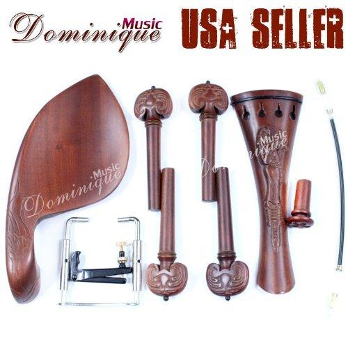 DZ Strad Hand Carved Inlaid Violin Parts