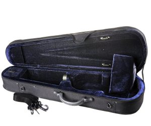 Full Size Basic Professional Triangular Shape Super Light Suspension Violin Hard Case