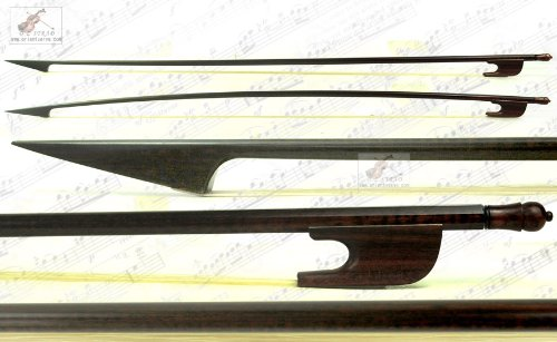D Z Strad Master Old German Baroque Style Beautiful Snakewood Violin Bow