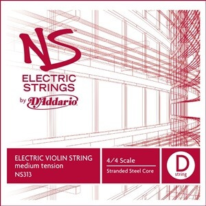 D'Addario NS Electric Violin Single D String