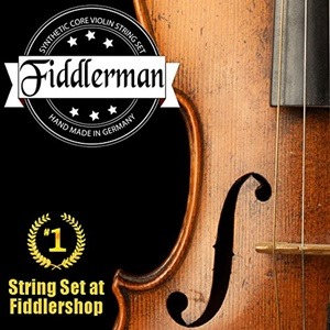 Fiddlerman Violin String Set Review