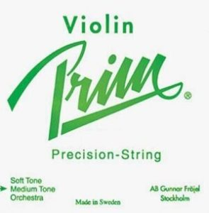 Prim 4/4 Violin String Set