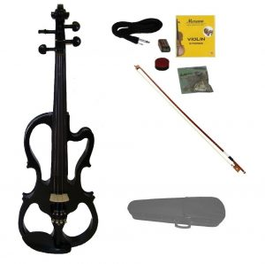 Merano Full Size Fitted Electric Silent Violin