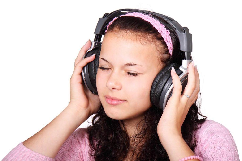 headphones drums kid