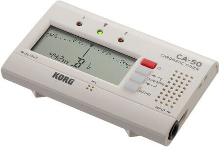 Korg CA-50 Tuner review