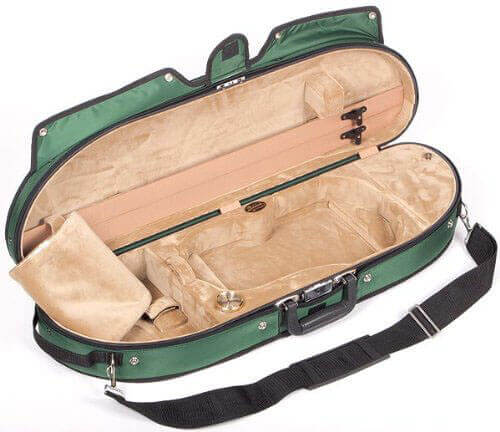 Bobelock Half Moon Puffy violin case