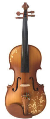 Kinglos colored violin